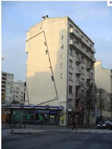 Unité de la,  Peter Downsbrough, 33, Boulevard de la liberté , Rennes, commande publique, 1990. Courtesy Ville de Rennes.