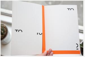 Now, Peter Downsbrough, livre d'artiste, [32 pages], cousues, offset noir & blanc et une couleur, 21 x 14,5 cm. 2010,  Coédition avec le Fonds régional d'art contemporain Bretagne. Courtesy Incertain Sens & Frac Bretagne
